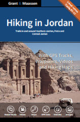 Cover Hiking in Jordan - Ebook version - Trails in and around northern Jordan, Petra and Central Jordan  - Grant & Maassen