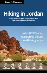 Cover Hiking in Jordan - Ebook version - full version - Grant & Maassen