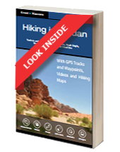 Look Inside E-Book Version -  Hiking in Jordan By Grant and Maassen - ISBN 978-1492811893 - Wandel Guides